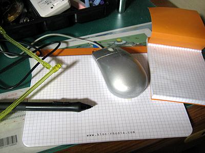 ロディア クリックブロック マウスパッド