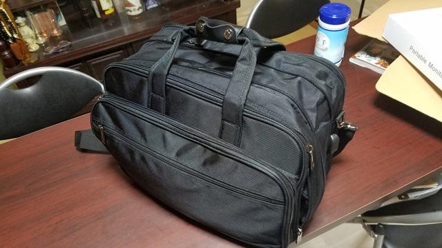 バッグも購入したので機動力アップです!
