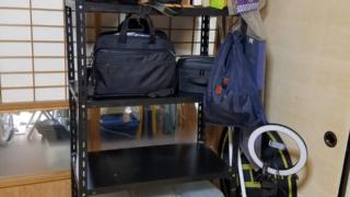 機材が増えたので、棚の整理をしました。