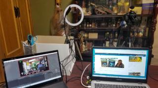 カメラの映像をOBS Studio経由でパソコンに取り込めるようにしました。