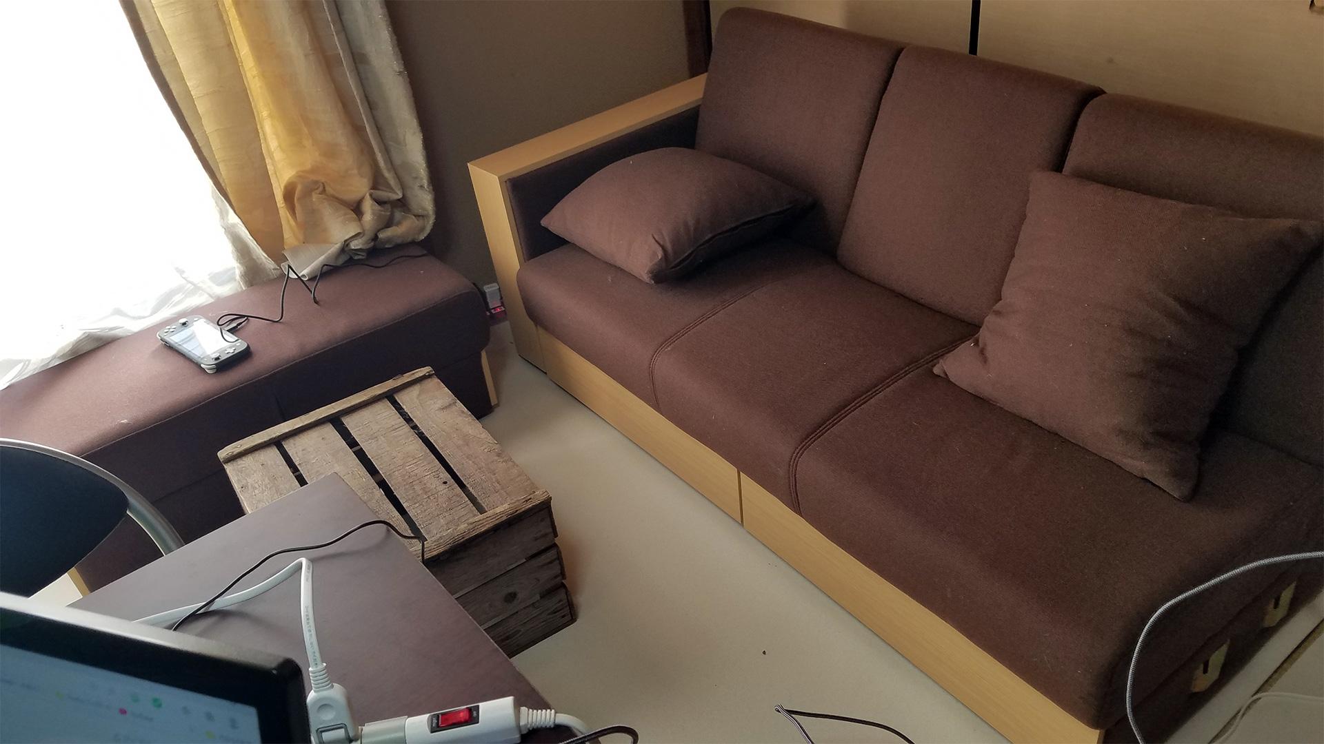 ソファーを購入しました。