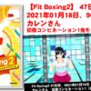 【Fit Boxing2】 47日目、2021年01月18日、96.0kg カレンさん。初級コンビネーション1鬼モード挑戦!